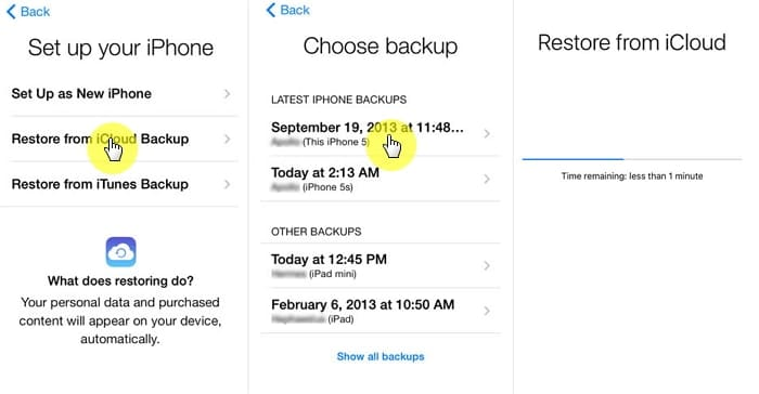 How to See What's in My iCloud Using iCloud