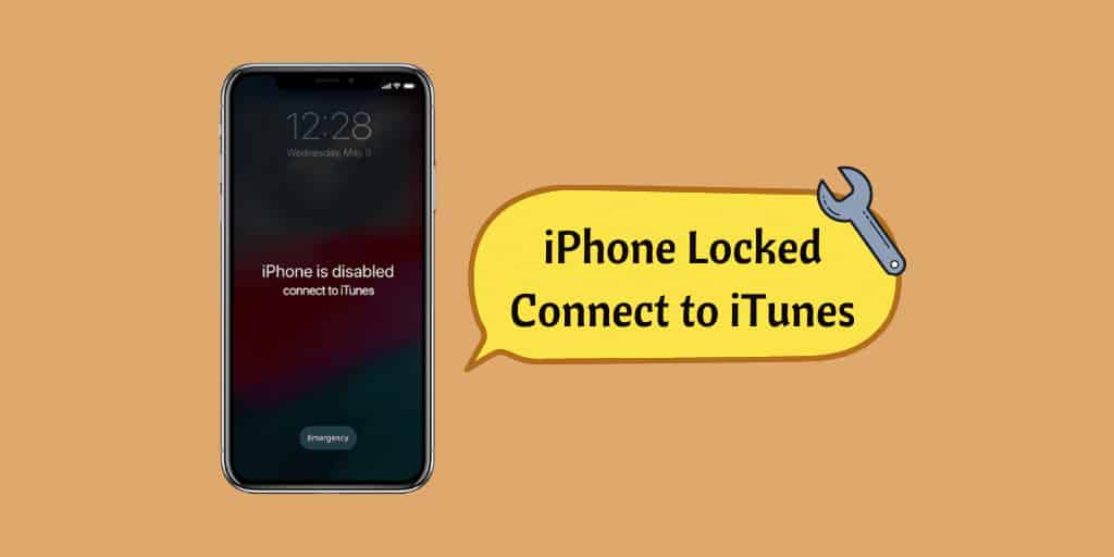 iPhone Locked Connect to iTunes
