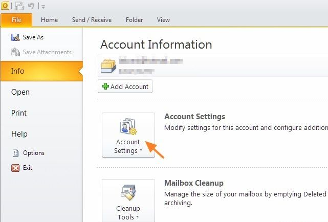 Reconfigure mail server ports to fix 0x800408fc Error in Outlook