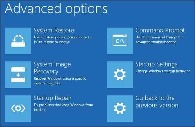 Try Automatic Repair to fix Lenovo Stuck On Boot Menu