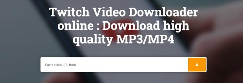 Convert Twitch Clip to MP3 with Youtube2-mp3.com
