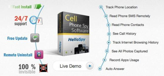 How to Hack Someone's iPhone with HelloSpy