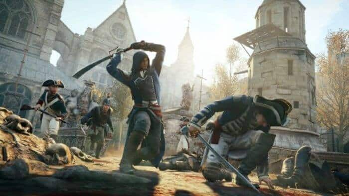 sword fighting games ps4 - Assassin's Creed Unity