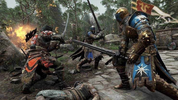 sword fighting games ps4 - For Honor