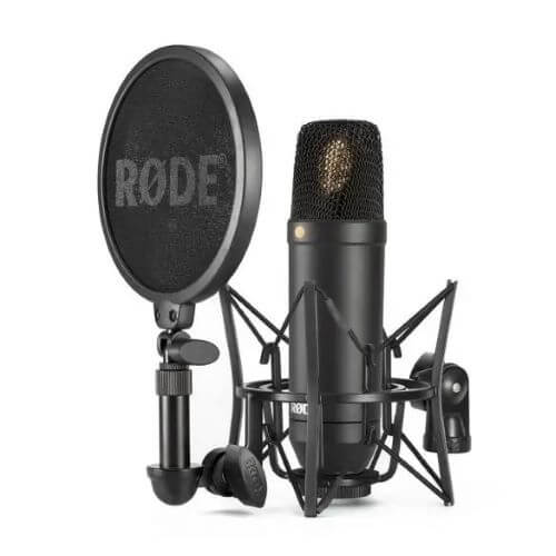 What Microphone Does PewDiePie Use - Rode NT1KIT and other models