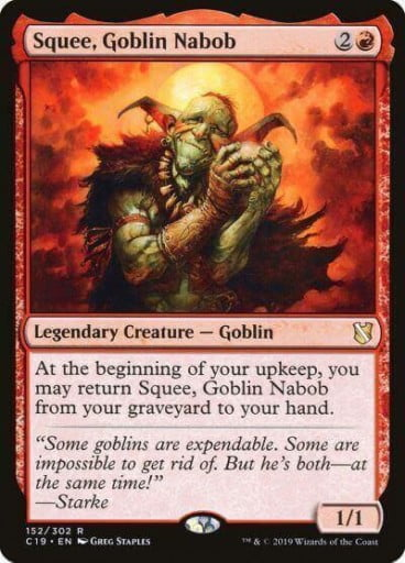 Squee, Goblin Nabob, and Squee, the Immortal