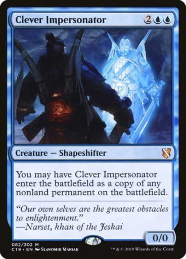 MTG Clone Cards - Clever Impersonator
