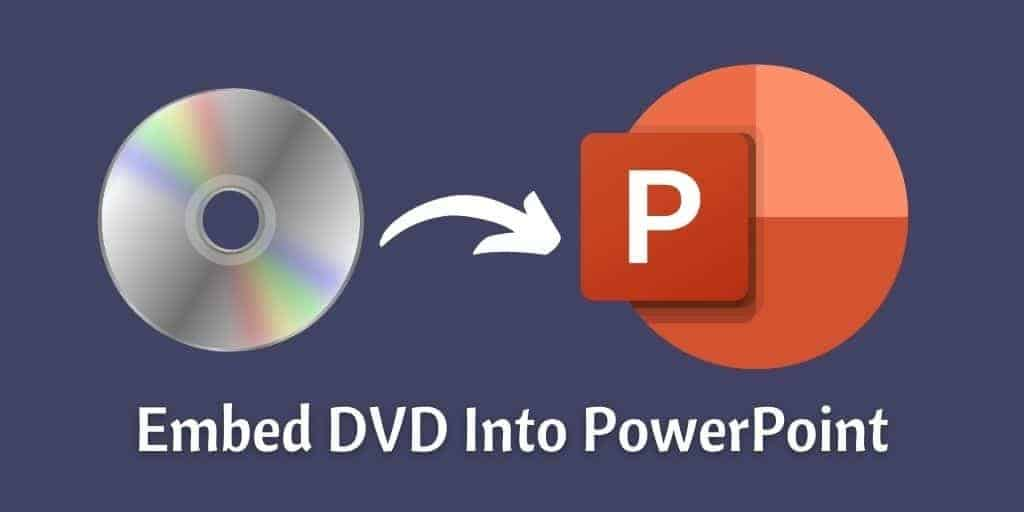 Embed DVD Into PowerPoint
