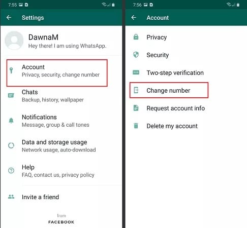 how to hide your number on whatsapp Using a different Number